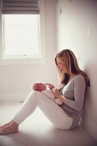 Newborn Baby Girl In-Home Lifestyle Session in Cleveland, OH