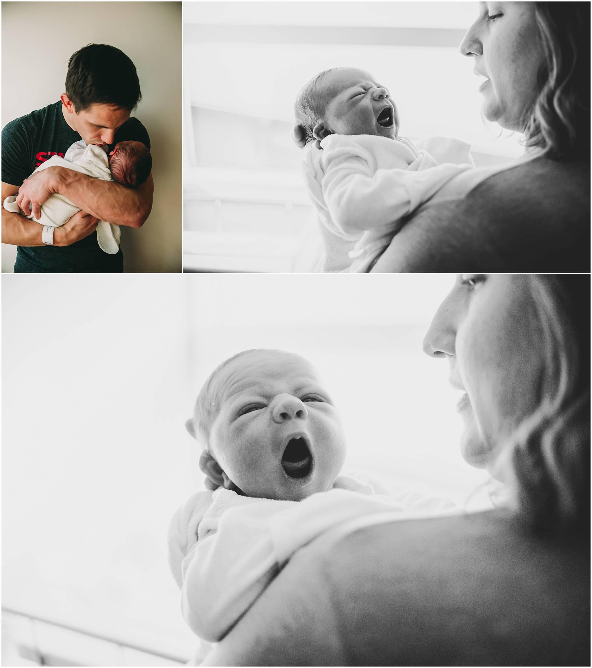 cleveland newborn baby photography