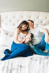 Intimate Cleveland Newborn Session